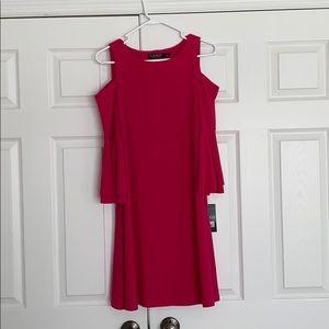 Lauren Ralph Lauren Open Shoulder Dress